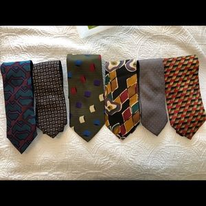 Pierre Balmain designer bundle 6 ties